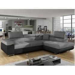 Canapé d'angle Mcnally avec fonction de litWayfair.de