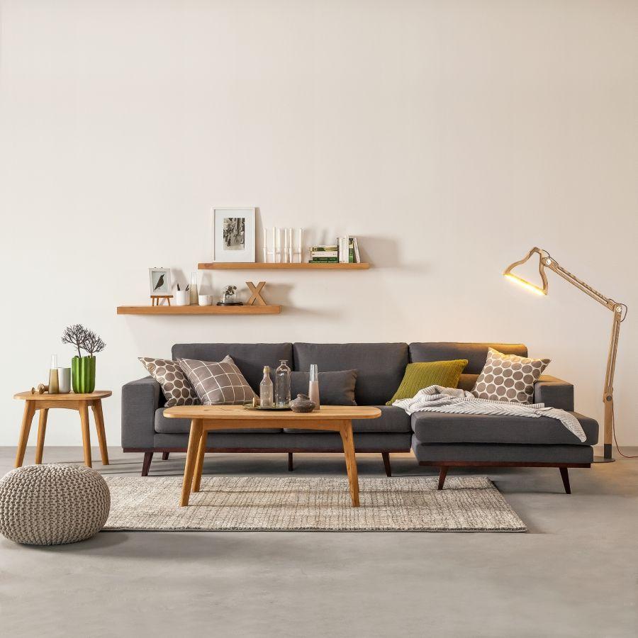 Canapé d'angle avec chaise longue de Mørteens chez Home24