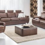 Canapé-lit moderne en faux cuir