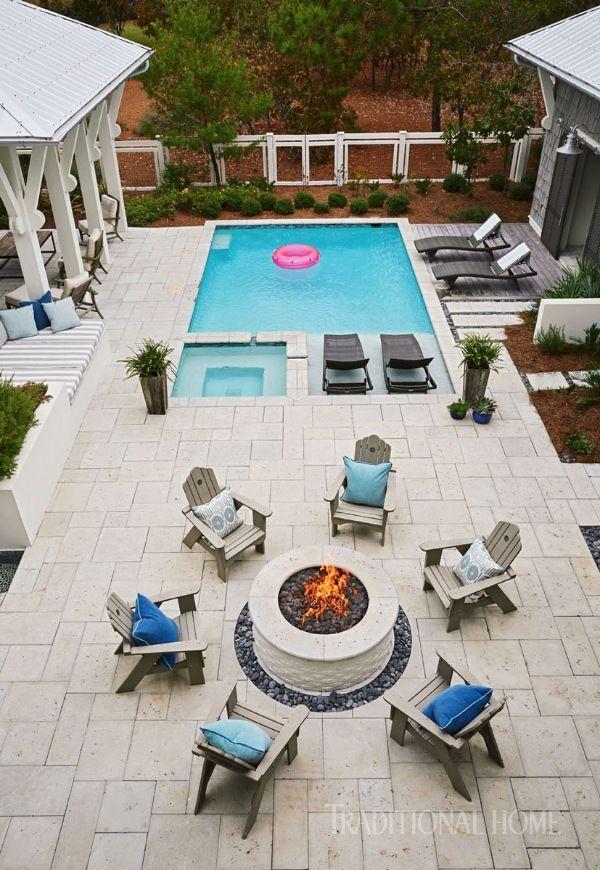 #Casual #Maison de vacances # Floride #with #style Les confortables chaises longues de …