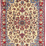 Ces tapis sont fabriqués dans la ville d'Ispahan dans le sud-ouest de l'Ira...