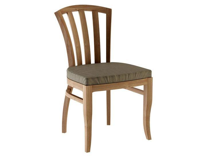 Chaise de jardin en teck TOURNESOL Collection Tournesol by …- Sedia da giardin…