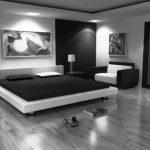 Chambre noire et blanche - signification des couleurs et combinaisons en 80 photos splendides! - Archzine.fr