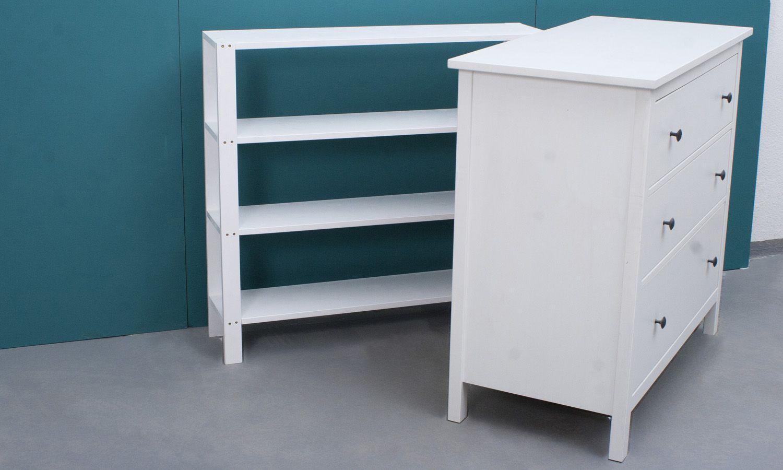 Changer d'attachement pour IKEA Hemnes + Regal Paula