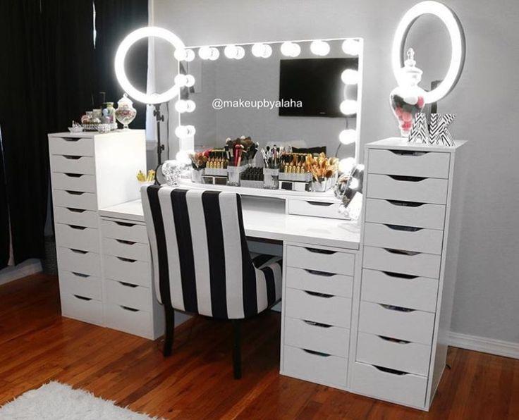 Coiffeuse noire IKEA – Coiffeuse noire IKEA – Voici quelques photos d'idées de conception pour la conception de meubles de votre maison liées au coiffeuse noire d'IKEA. … # Table basse – Idées de design d'intérieur