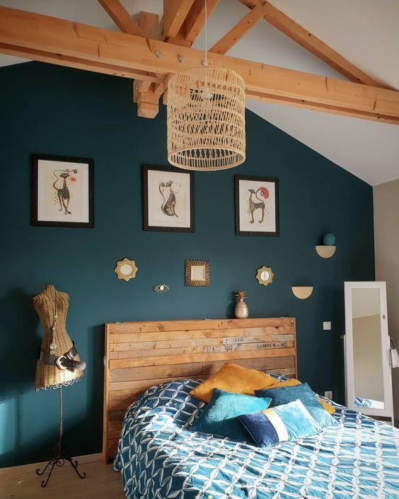 Coloration Tendance : 30 Idées pour Mieux Choisir la couleur de Peinture de votre Chambre (20…