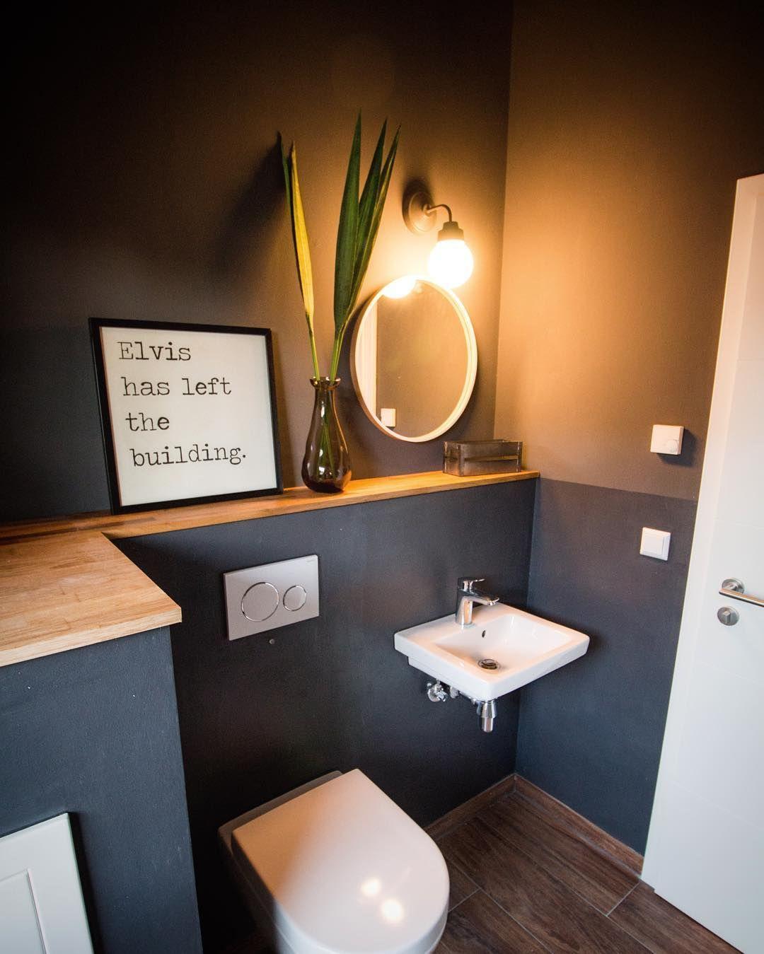 Comme il y avait tant de demandes, voici à nouveau une photo de nos toilettes incl ….