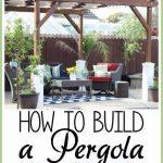 Comment construire une pergola