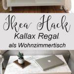 Comment construire une table de salon élégante à partir d'une simple étagère Kallax ...