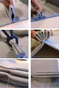 Comment faire des rideaux à plis – #curtains #pinch #pleat #rideau