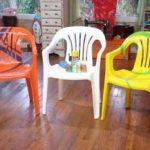 Comment peindre des chaises de patio en plastique?