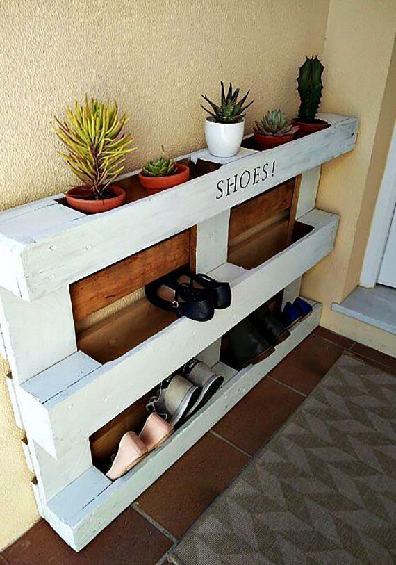 Comment pouvez-vous construire un porte-chaussures vous-même?