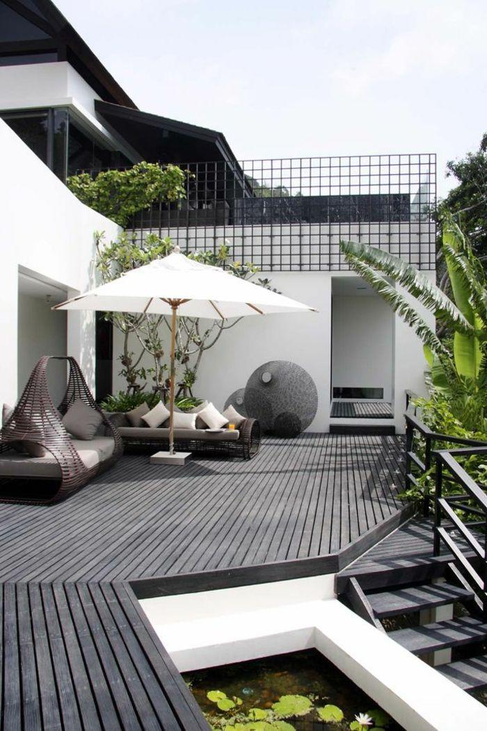 Conception de la terrasse – donnez à la terrasse un aspect plus chic …