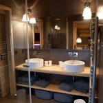 Conception salle de bain design - Chalet Les Gets - Chalets Bayrou