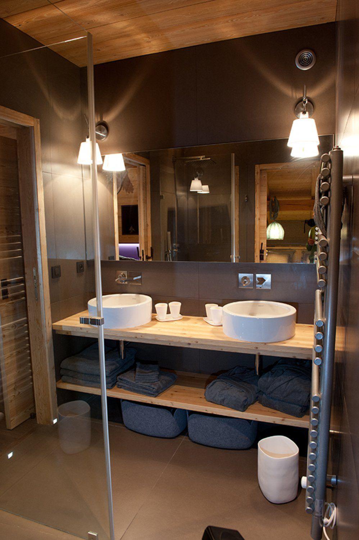Conception salle de bain design – Chalet Les Gets – Chalets Bayrou