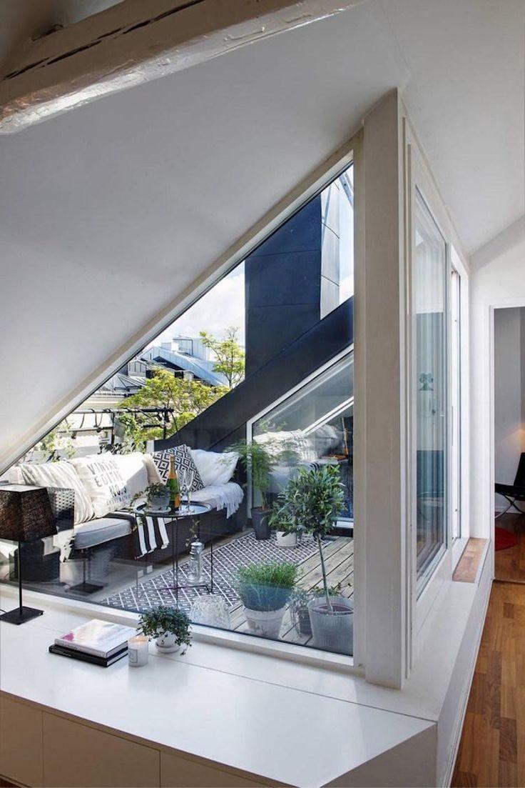 Concevez la terrasse sur le toit et prolongez ainsi l'intérieur