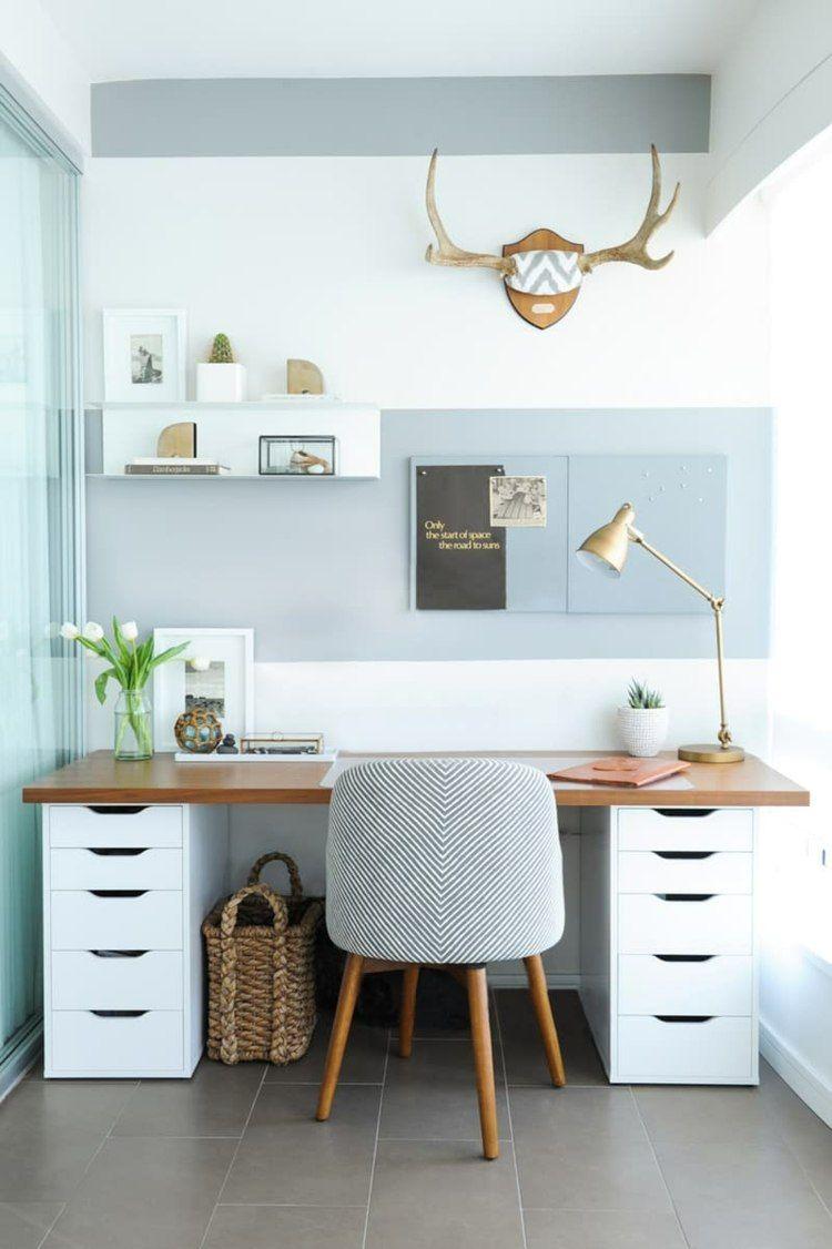 Construire un bureau simple – 17 idées de bricolage rapides