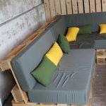 Construire un mobilier de jardin en bois palette - #build #in #jardin # mobilier de jardin en bois palette