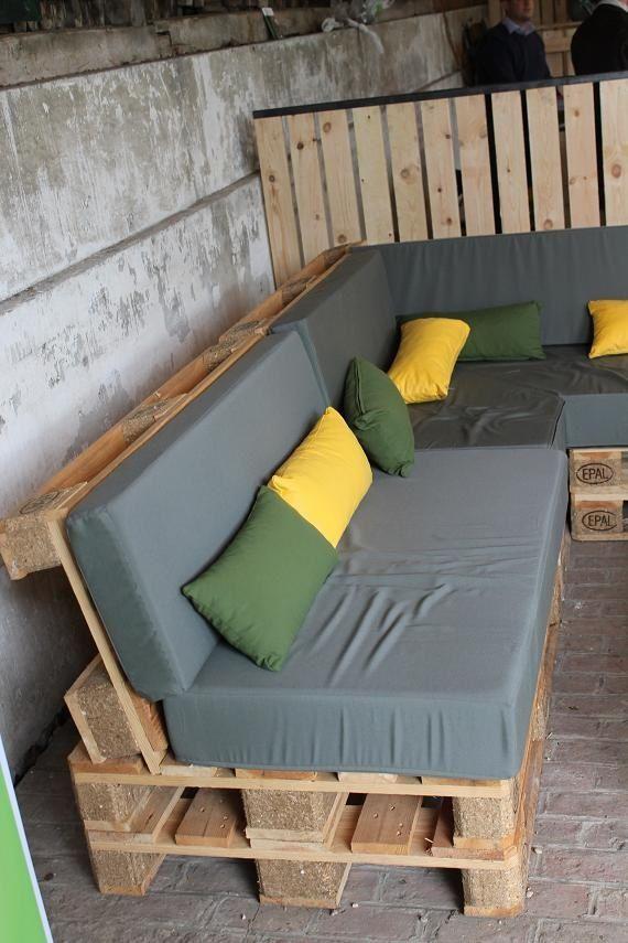 Construire un mobilier de jardin en bois palette – #build #in #jardin # mobilier de jardin en bois palette