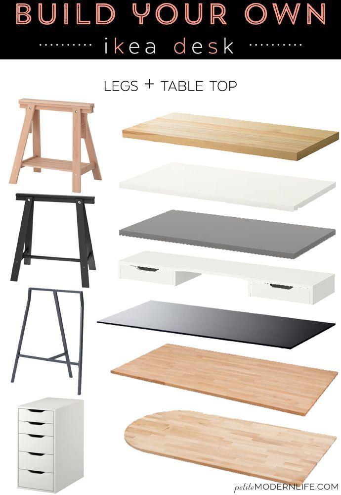 Construisez votre propre bureau Ikea