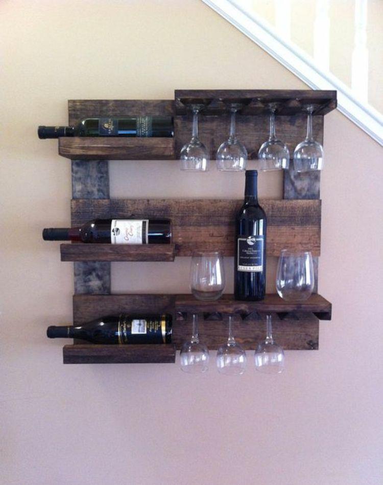 Construisez votre propre casier à vin et rangez les bouteilles de vin correctement