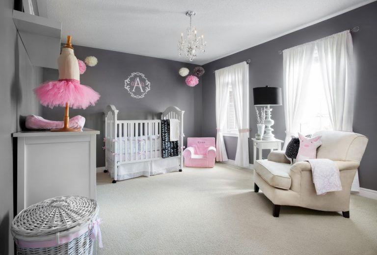 Couleurs de la chambre de bébé: 65 idées, photos et inspirations