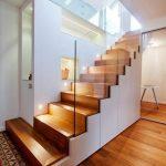 Couloir, couloir et escalier modernes de architetto alessandro passardi modern
