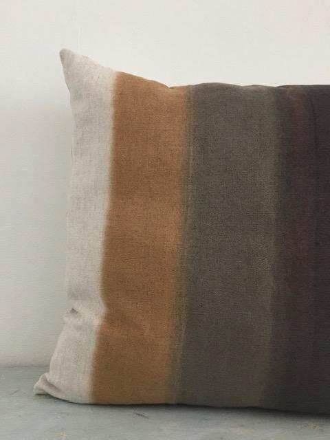 Coussin Grand Format Chanvre ancien – Tie&Dye