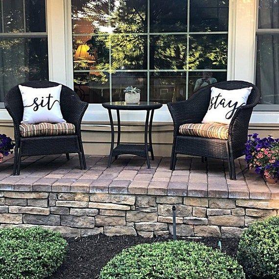 Cream Sit & Stay Pillows | Housewarming Gift | Pillow | Cushion | Outdoor Pillow | Sofa Pillow | Pet Pillow | Cute Pillow | Dog Pillow