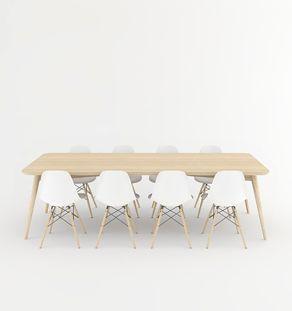 Creation sur-mesure // table repas ovale teck massif / tam-tm-01 – #creation #ma…