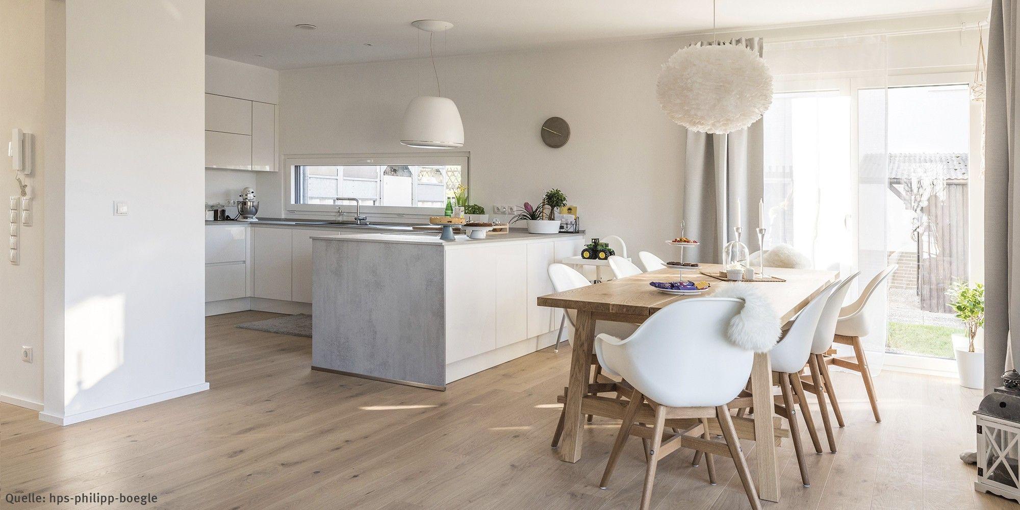 Cuisine et salle à manger – Kundenhaus WeberHaus