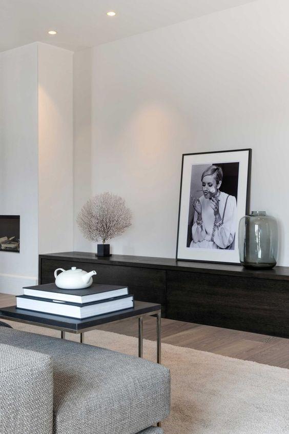 De bonnes idées pour vous faire plaisir: Appartement intérieur minimaliste Chambre minimaliste grise