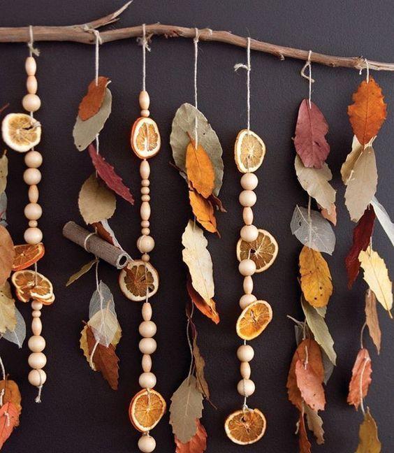Décoration d'automne bricoler – Bonnes idées de bricolage pour le début de l'automne