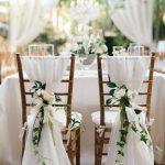 Décoration de mariage pour chaises - 111 idées fascinantes - Archzine.net