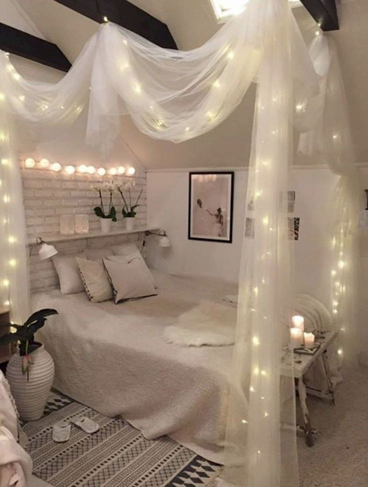 Décorer votre chambre à coucher pour Romance