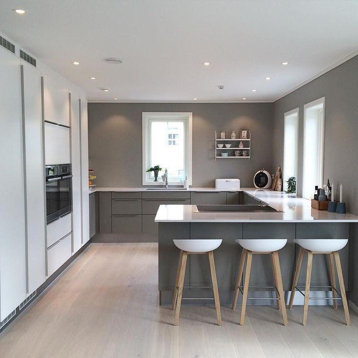 Des armoires de cuisine modernes Des idées pour plus d'inspiration Plat #modernkitchencabinet …
