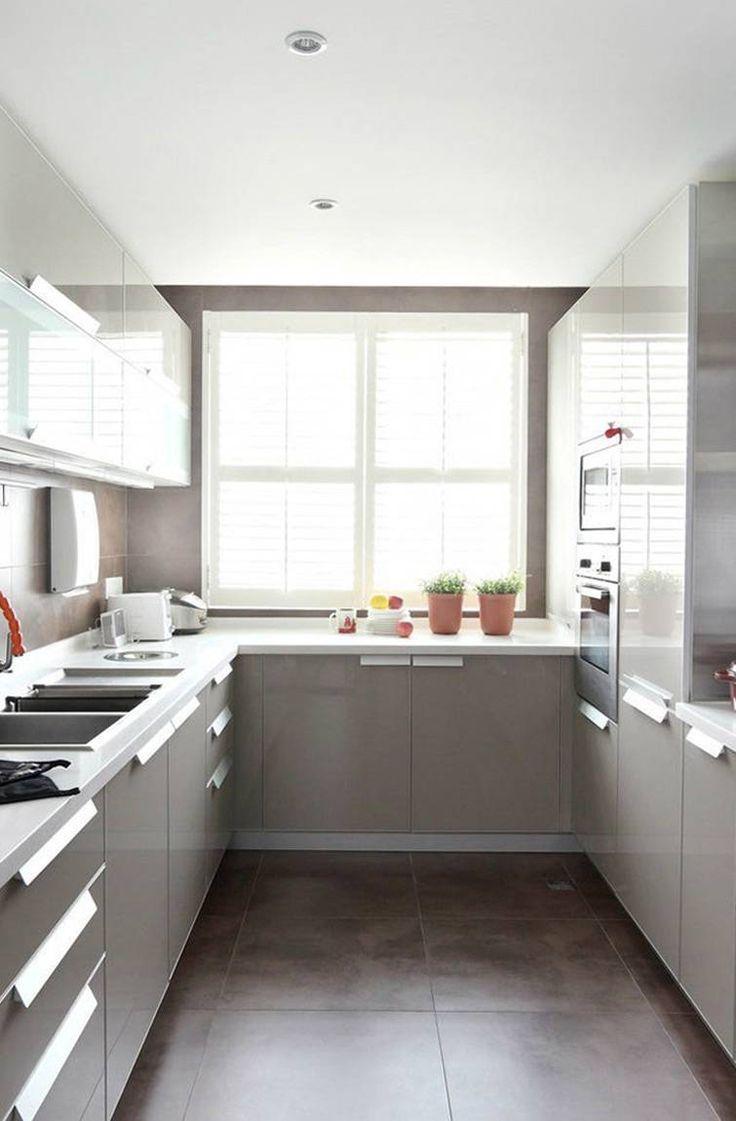 Des cuisines modulaires de conception internationale en Inde.Parcourir une cuisine modulaire parallèle …