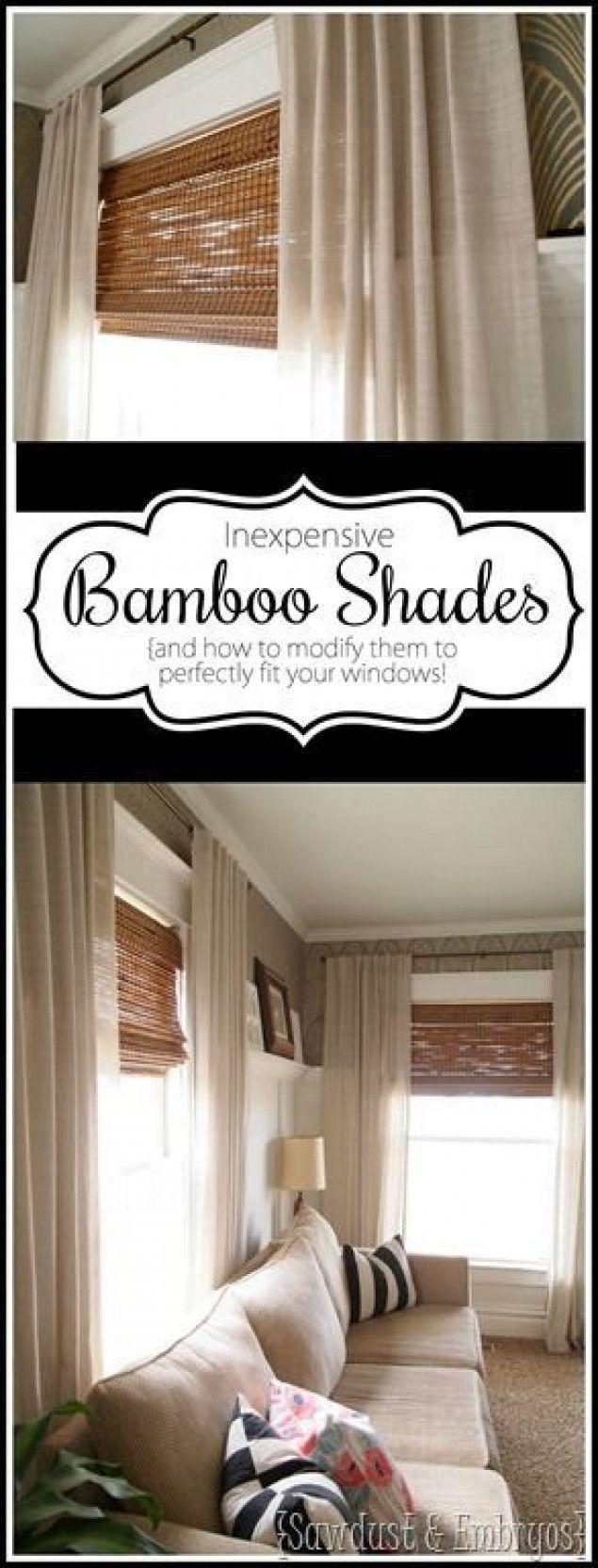 Des instructions détaillées sur la coupe des stores en bambou tissé pour s'adapter parfaitement à votre …