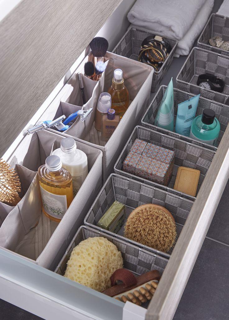 Des paniers de rangement dans les tiroirs de votre salle de bain! Utile et pratique … – http://embassy-toptrendspint.blackjumpsuitoutfit.tk