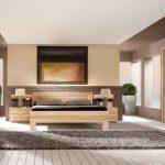 Designs contemporains de meubles de chambre à coucher