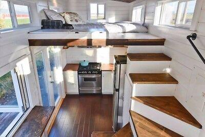 Détails à propos de Park Model, Maison minuscule, Domicile, Modulaire, Préfabriqué, Bâtiment portable, Petite maison