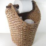 Détails sur Support tressé en corde pour corbeille à papier de toilette style rustique rustique Présentoir de salle de bains Titre original - Susan Jones