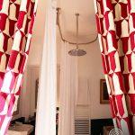 Dispositif ovale plafond GalboTwins et baignoire centrale