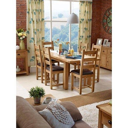 Ensemble à dîner extensible Vancouver Select 1 table avec 6 chaises.  Meubles …