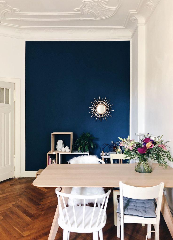 Essence de peinture murale dans le salon et la salle à manger de www.kolorat.de #colorat #wall paint #wo …