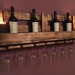 Etagère à vin en verre / casier à vin sans palette - Heimwerker-Helden.de