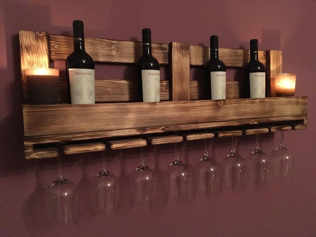 Etagère à vin en verre / casier à vin sans palette – Heimwerker-Helden.de