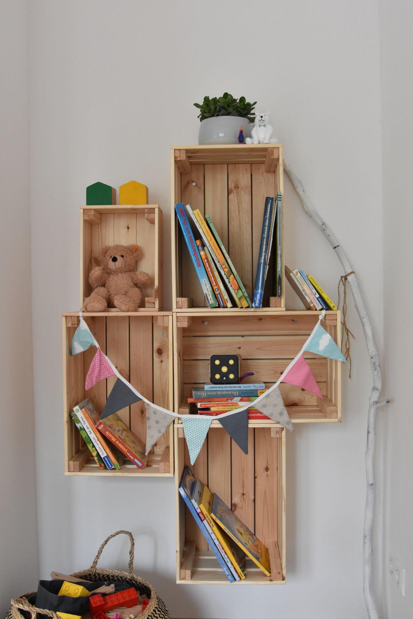 Étagère en bois bricolage | Ikea Hack avec Knagligg