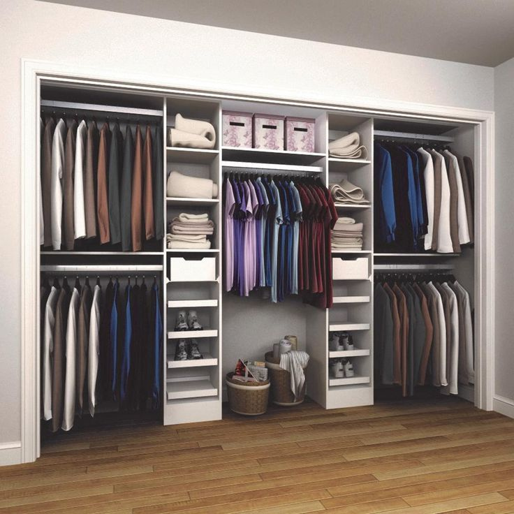 Etagères et organisateur de cabinet de luxe en bois … – #Wood #Luxury #Organizer …