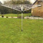 Etendoir a linge parapluie exterieur ▷ Nos tests : avis et comparatifs